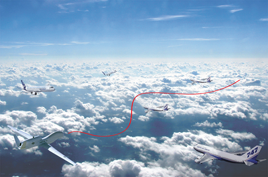 UAV Real-Time Collision Avoidance with Path Planning in Restricted Airspace with Uncertainties (2011)